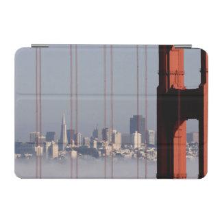 San Francisco Skyline from Golden Gate Bridge. iPad Mini Cover
