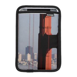 San Francisco Skyline from Golden Gate Bridge. iPad Mini Sleeve