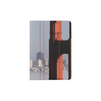 San Francisco Skyline from Golden Gate Bridge. Passport Holder