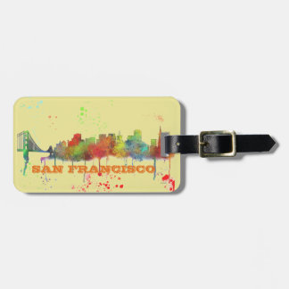 SAN FRANCISCO SKYLINE LUGGAGE TAG