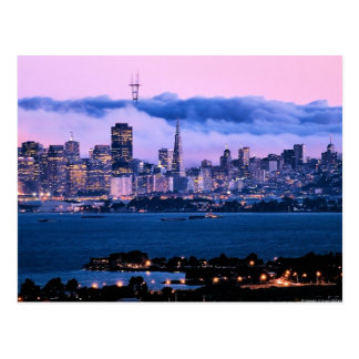 San Francisco Skyline Postcard
