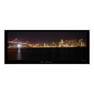 San Francisco Skyline Posters