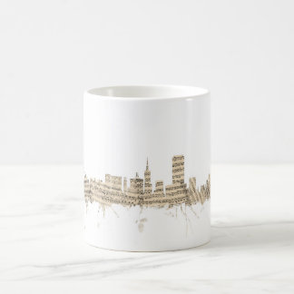 San Francisco Skyline Sheet Music Cityscape Coffee Mug