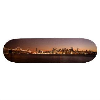San Francisco Skyline Skate Board Deck