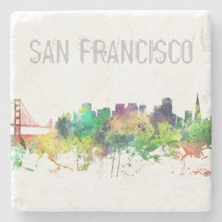 SAN FRANCISCO SKYLINE SP - STONE BEVERAGE COASTER