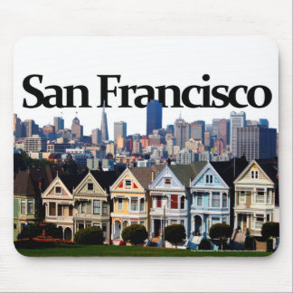 San Francisco Skyline w/ San Francisco in the Sky Mouse Mat