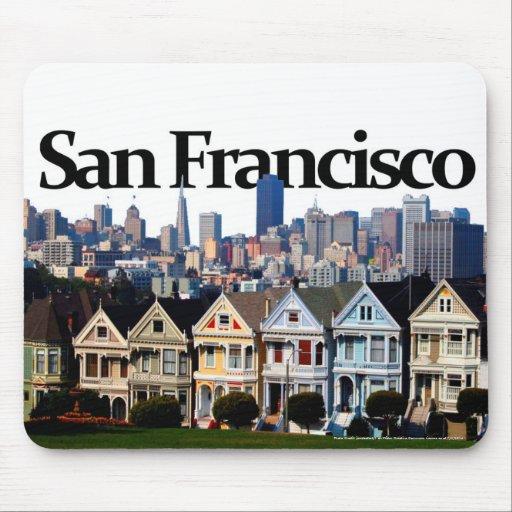 San Francisco Skyline w/ San Francisco in the Sky Mousepad