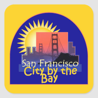 SAN FRANCISCO SQUARE STICKER