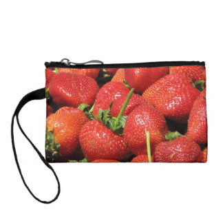 San Francisco Strawberries Coin Wallet