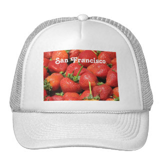 San Francisco Strawberries Cap