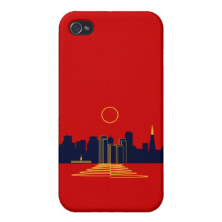 San Francisco Sunset iPhone 4 Case