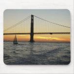 San Francisco Sunset Mousepads