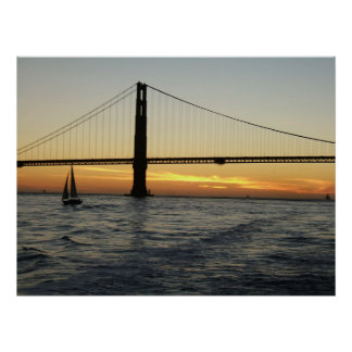 San Francisco Sunset Poster
