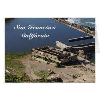 San Francisco Sutro Baths Ruins #2 Card
