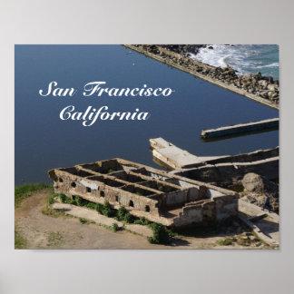 San Francisco Sutro Baths Ruins #2 Poster