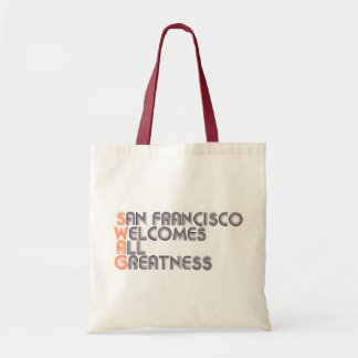 San Francisco Swag Retro Tote Bag