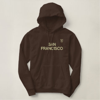 SAN FRANCISCO SWEAT EMBROIDERED HOODED SWEATSHIRTS