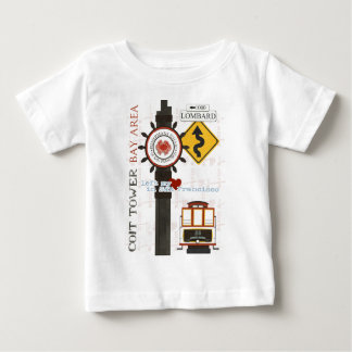 San Francisco Travel Spots Baby T-Shirt