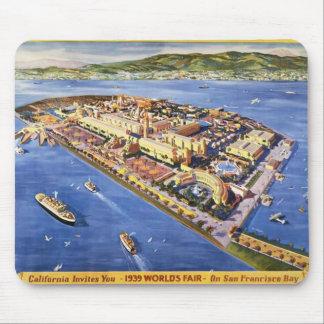 San Francisco Treasure Island Mouse Mat