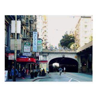 San Francisco: Tunnels Postcard
