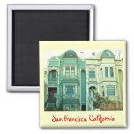 San Francisco Twin Victorians Magnet
