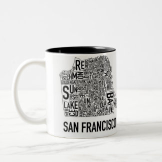 San Francisco Typo Mug