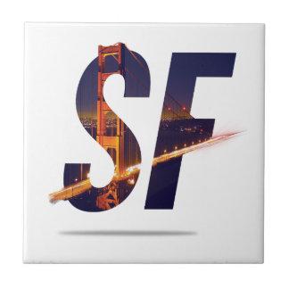 San Francisco Typography Tile