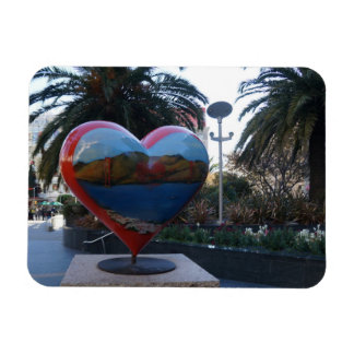 San Francisco Union Square Heart Photo Magnet