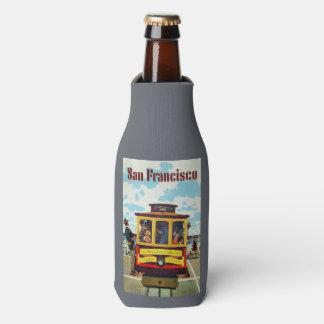 San Francisco USA Vintage Travel bottle cooler
