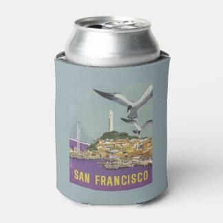 San Francisco USA Vintage Travel can cooler