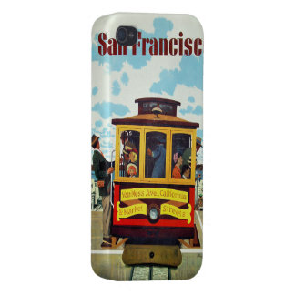 San Francisco USA Vintage Travel cases Cover For iPhone 4