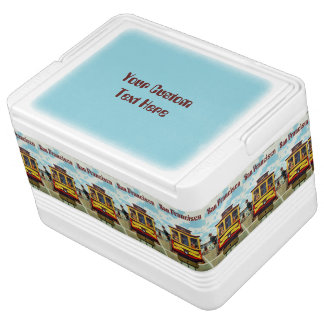 San Francisco USA Vintage Travel favor box Igloo Cooler