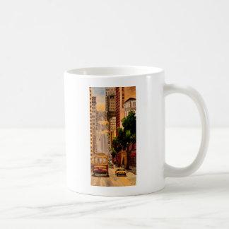 San Francisco Van Ness Cable Car Coffee Mug