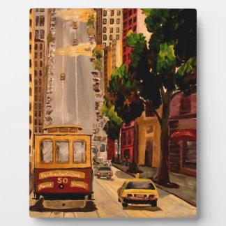 San Francisco Van Ness Cable Car Plaques