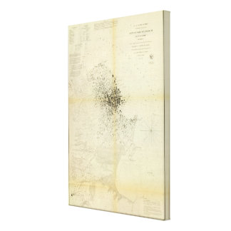 San Francisco & vicinity Canvas Print