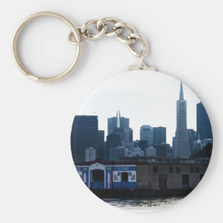 San Francisco View from the Bay Key Chains