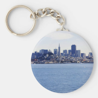San Francisco View From the Bay Keychains