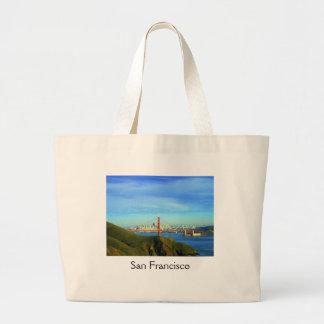 San Francisco View Jumbo Tote Bag