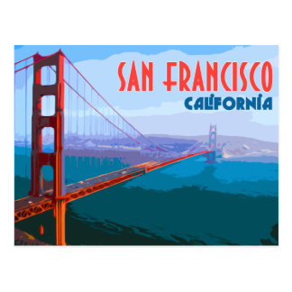 San Francisco Vintage Travel Postcard