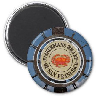 San Francisco Warf Magnet