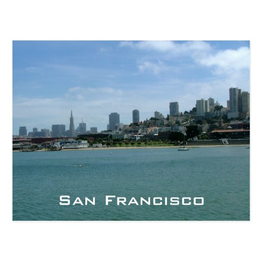 San Francisco Waterfront Postcard