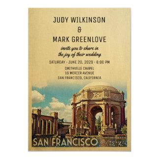 San Francisco Wedding Invitation Palace Fine Arts