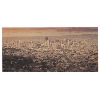 San Francisco Wood USB Flash Drive