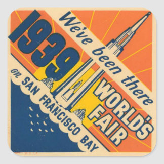 San Francisco World's Fair Sticker