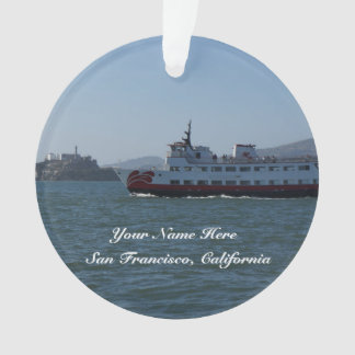 San Francisco Zalophus Ship Ornament