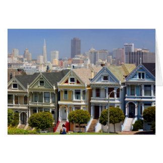 San Francisco's Famous Painted Ladies Card