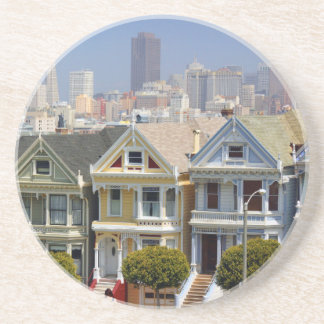 San Francisco's Famous Painted Ladies Coaster