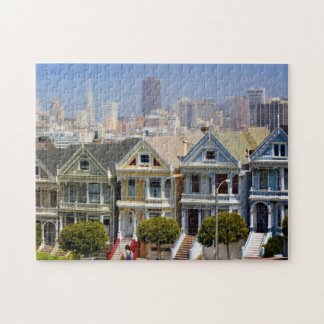 San Francisco's Famous Painted Ladies Jigsaw Puzzle