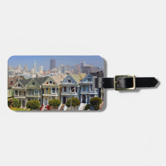 San Francisco's Famous Painted Ladies Luggage Tag