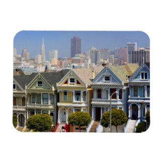 San Francisco's Famous Painted Ladies Magnet